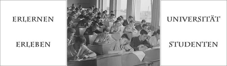 Erlernen - Universität - Erleben - Studenten